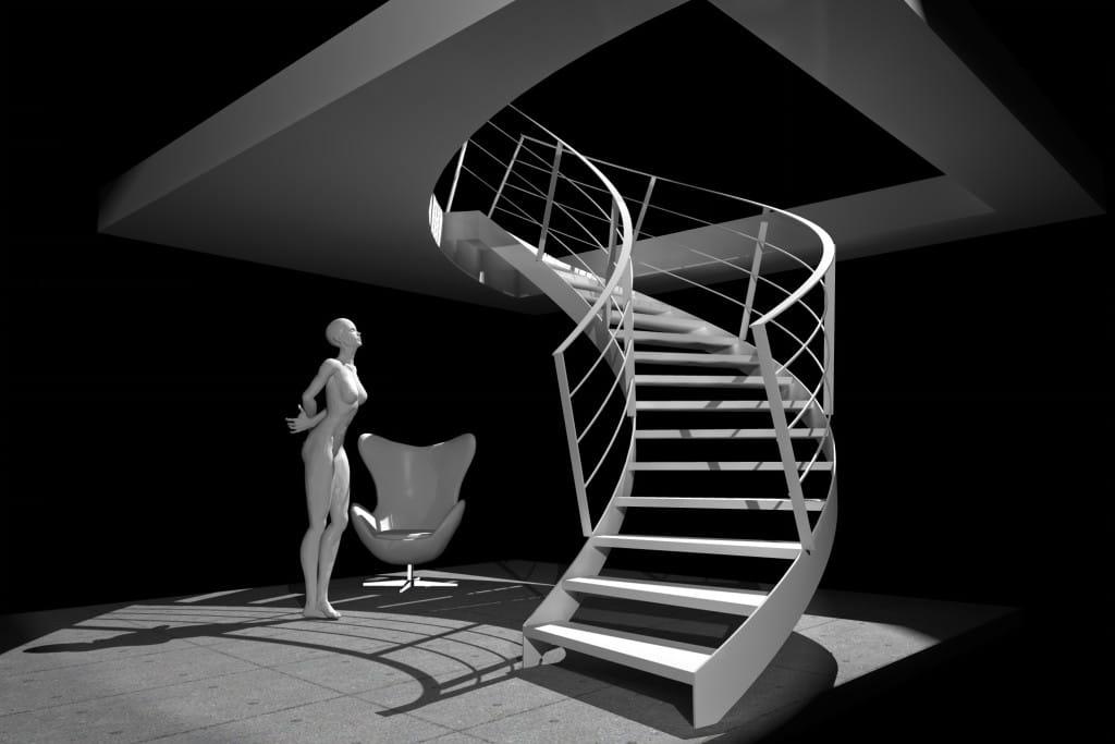 Scala curca 20140701 1 metope superfici e finiture d 39 arredo - Arredo bagno montebelluna ...